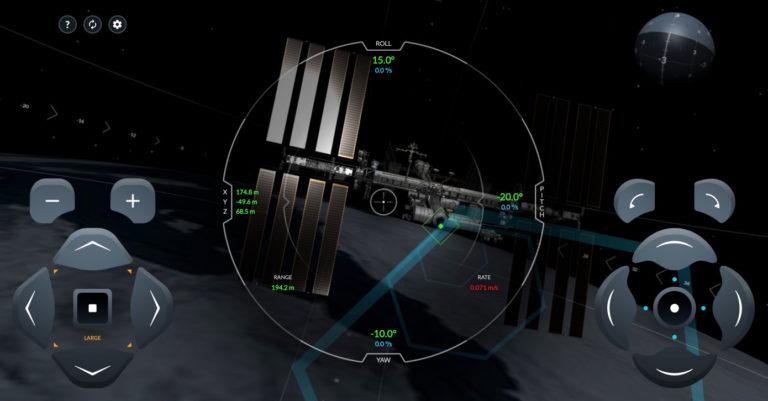 Mettez-vous dans la peau des astronautes de la NASA avec ce simulateur pour vous accoster à la Station spatiale internationale
