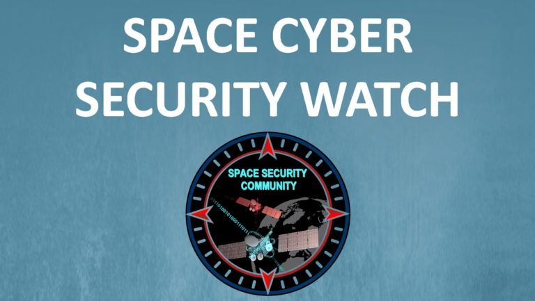 Space Cyber Security Watch N°1 – 3 May 2021